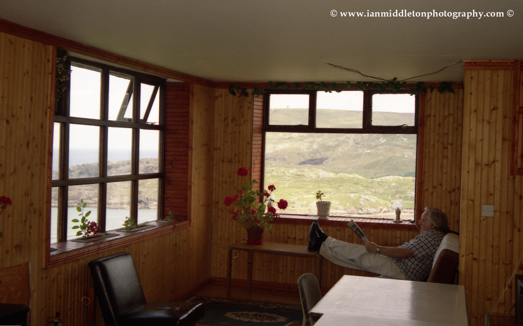The Dooey Hostel in Glencolmcille is a great place to relax and enjoy the views