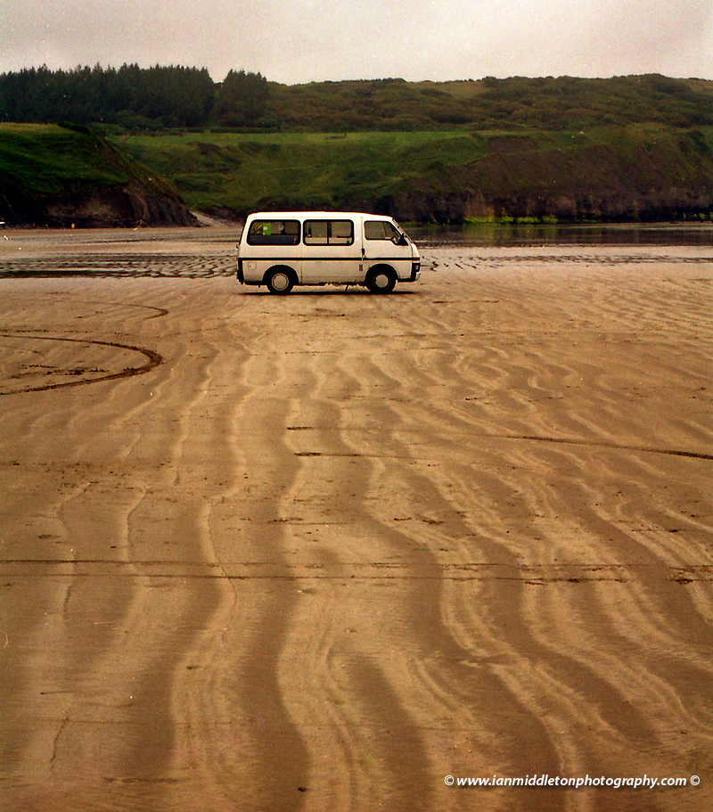 Rossnowlagh Beach in County Donegal, Ireland.