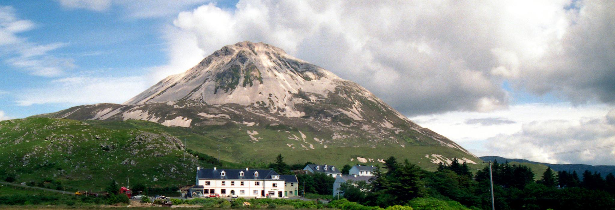Mt. Errigal in Dunlewey, County Donegal, Ireland.