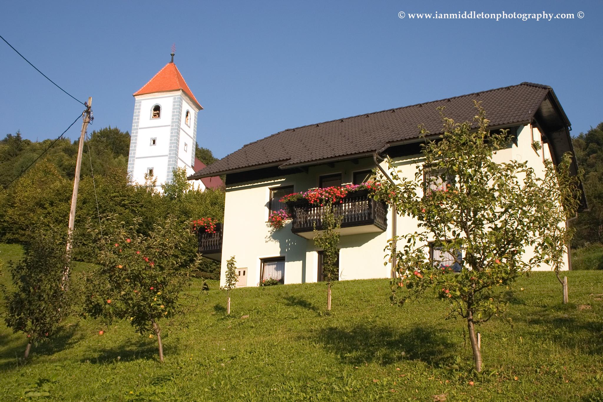 Church of Sv. Lenart (Saint Leonard) near Rogaska Slatina