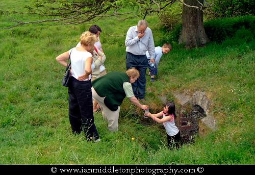 The Well of Sergais as it was known in ancient times, is now known as Trinity Well and is located in the village of Carbury, County Kildare