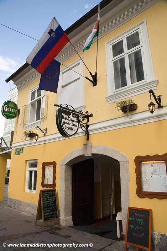 Gostilna Sestica, the oldest Inn in Ljubljana, Slovenia.