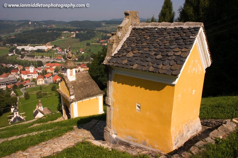 Baroque chapels at the pilgrimage of Saint Rok in Šmarje pri Jelšah