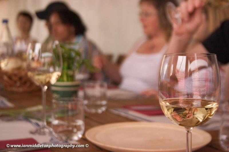 Wine in Belica Restaurant, Goriska Brda