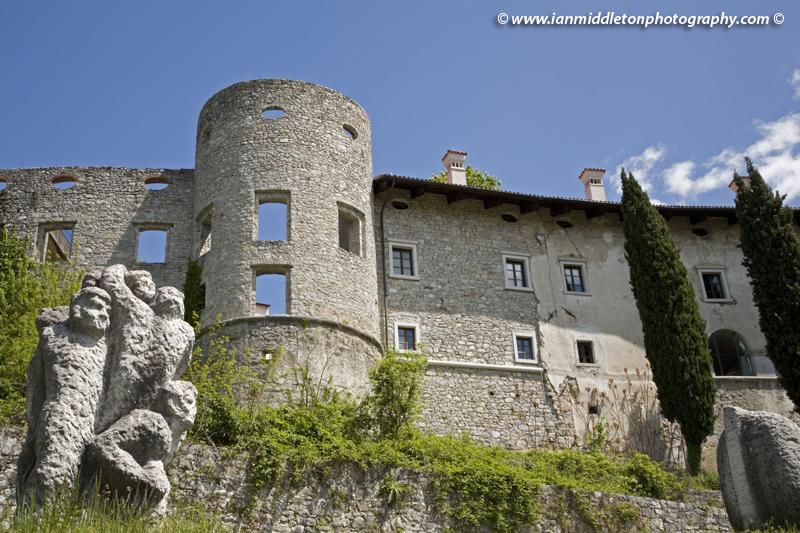 Stanjel castle, Karst region, Slovenia