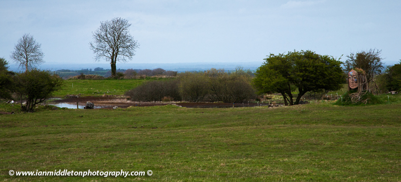 Lough Lugh, where the warrior king Lugh of the Tuatha de Danann is said to have drowned on the Hill of Uisneach, County Westmeath, Ireland.