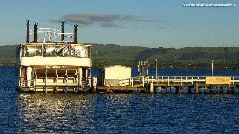 Lake Rotorua in New Zealand