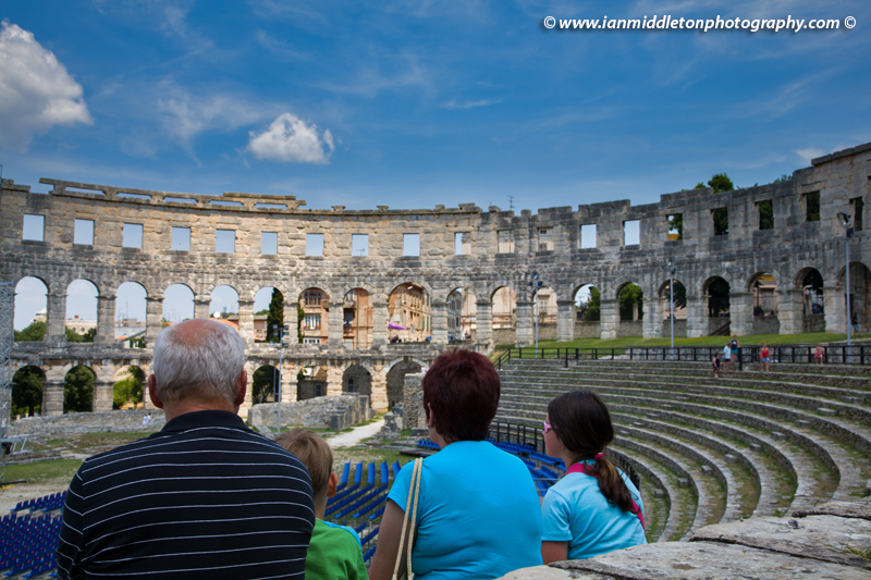 Pula Arena, Roman amphitheatre in pula, Croatia