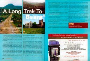 Article on walking the beara peninsula by Ian Middleton