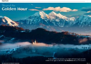 Article on the Golden Hour of Photography by Ian Middleton