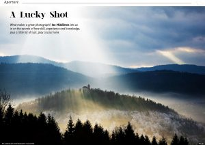 Article on luck in photography by Ian Middleton