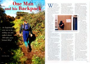 One Man and his Backpack by Ian Middleton