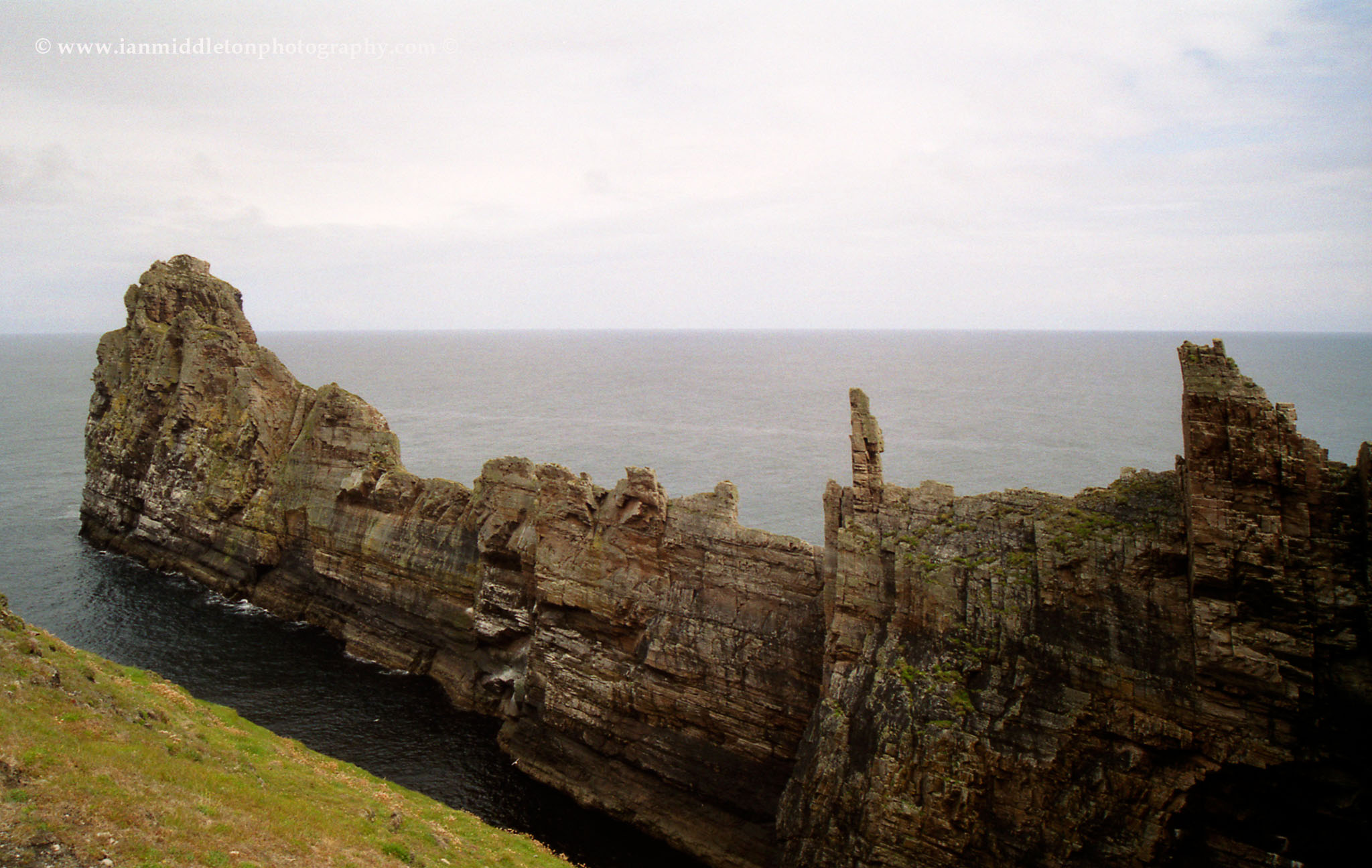Balor's soldiers on the east side of Tory Island, County Donegal, Ireland.