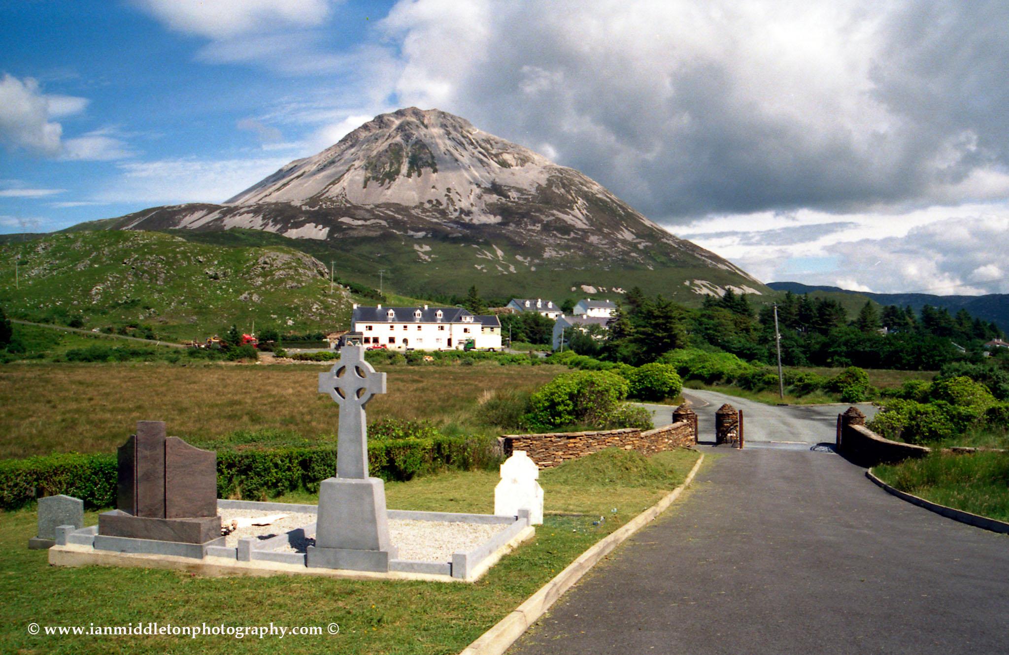 Mount Errigal in Dunlewey, Northern Donegal, Ireland.