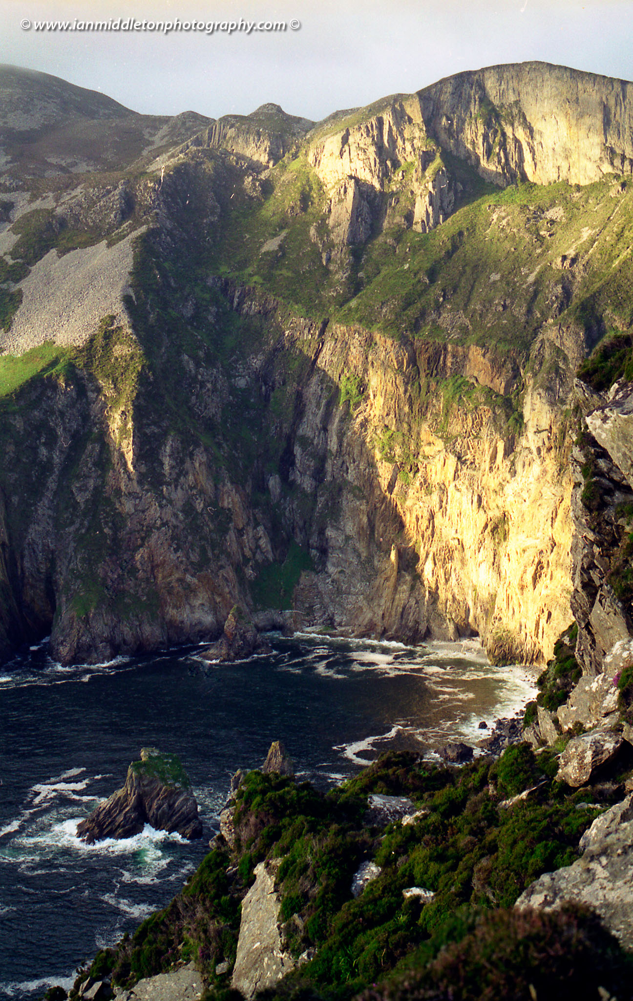 Slieve League cliffs in Southern Donegal