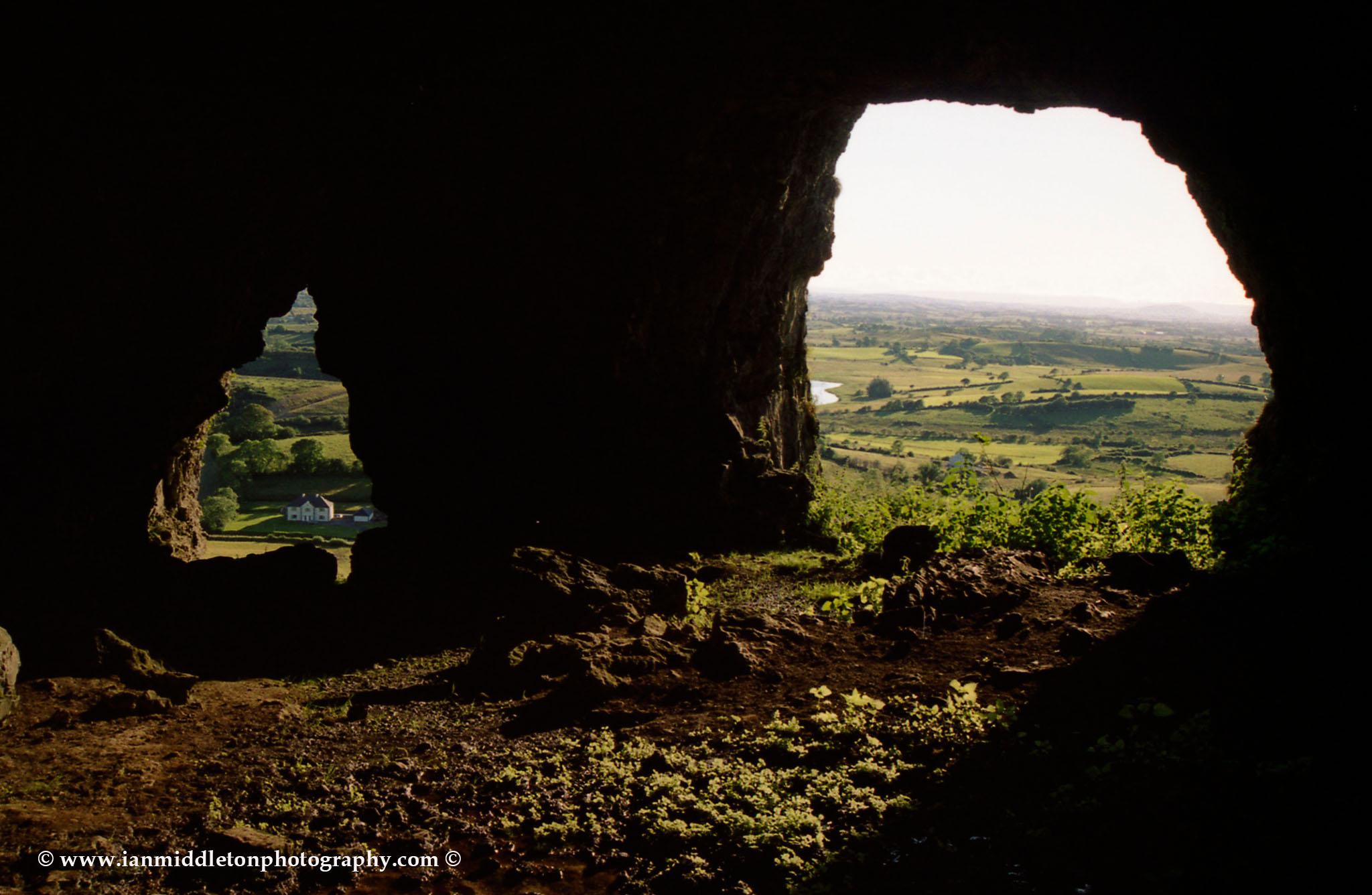 Keshcorran Caves in County Sligo, North West Ireland.